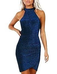 Amazon.it  Mini Abiti Corti Da Sera - Donna  Abbigliamento a11513c0f8d