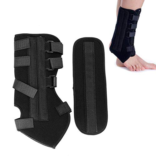 H.Yue Ankle Brace After Operation Ankle Joint External Fixation Fracture Fix Support Tool,Keep Your Plantar Fascia Stretched,for Women and Men (S) -