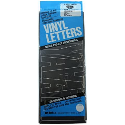 Permanent Adhesive Vinyl Letters