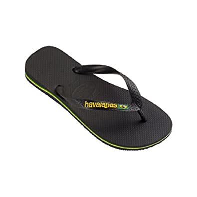 Havaianas Hav. Brasil – Sandals, Size Black Size: 12.5 UK