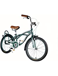 """Vaux Bicycle 20T for Kids ,Ideal for Cyclist with Height 3'11"""" - 4'3"""" - Vaux Beach Cruiser European Fashion"""