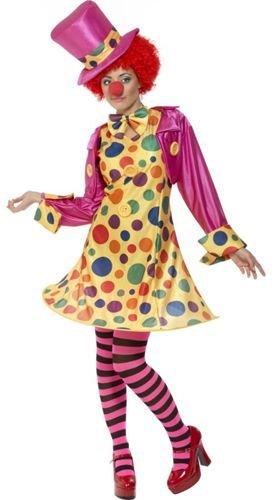 Werder Clown Lady Hooped Kostüm
