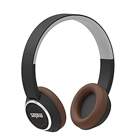 Sephia SR28 Bluetooth Headphones, Bass Driven Sound, Rechargable for iPhone,