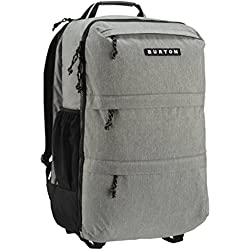 Burton Traverse Pack maletín Mochila, Grey Heather, 52 x 31 x 26 cm
