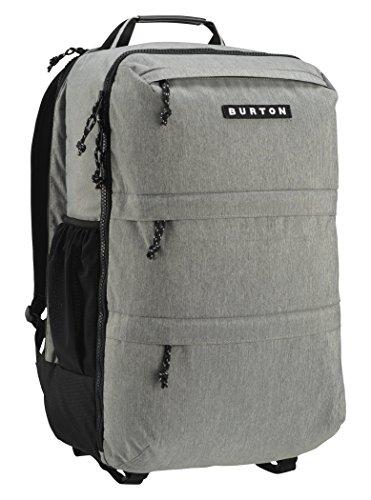 Burton Traverse Pack Kofferrucksack, Grey Heather, 52 x 31 x 26 cm (Pack Traverse)