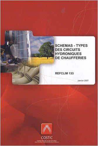 Schémas-types des circuits hydroniques de chaufferies : REFCLIM 133 par COSTIC