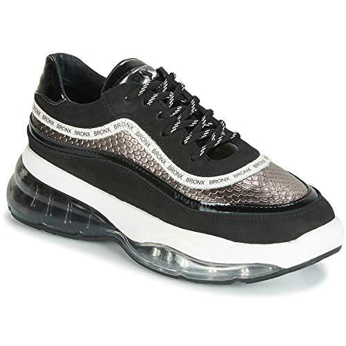 Bronx Bubbly Sneaker Damen Schwarz - 37 - Sneaker Low