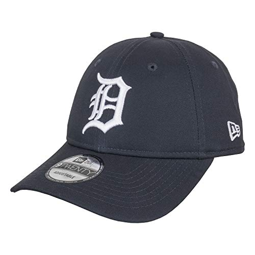 New Era Essential Packable 9Twenty Adjustable Cap Detroit Tigers Dunkelblau, Size:ONE Size