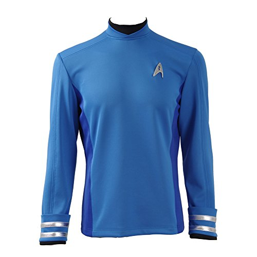 CosDaddy ® Star Trek Beyond Spock Hemd Uniform Cosplay Kostüm US Size (Maßgeschneidert)