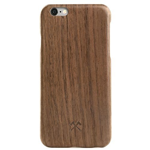 Woodcessories - Hülle, Case kompatibel mit iPhone 6 Plus, iPhone 6s Plus, EcoCase Slim (Walnuss) (Iphone 6 Holz-hülle (slim)