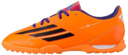 adidas F10 TRX TF J, Jungen Fußballschuhe, orange - Orange/Schwarz/Violett - Größe: 32