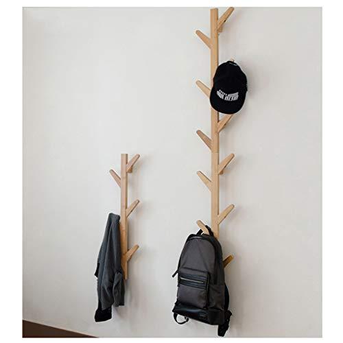SDFGH Perchero, Perchero pared Estante bambú Perchero