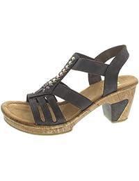 7d6677d442a422 Suchergebnis auf Amazon.de für  rieker sandaletten grau - Nicht ...