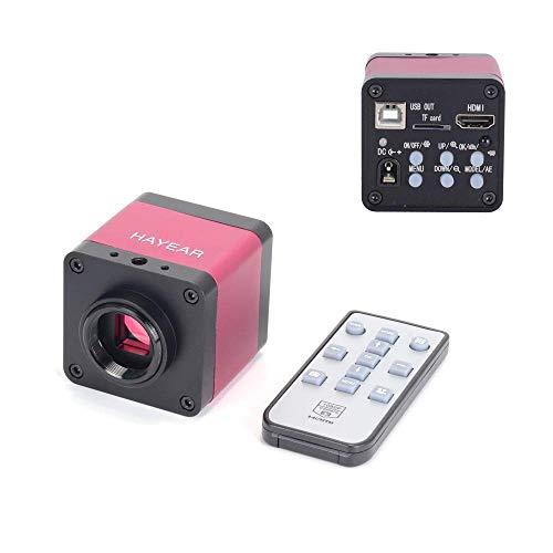 AOLI 16 Mp 1080 P 60 Fps Tv Hdmi Usb Industrie Digitale C-Mount Mikroskopkamera Tf Videorecorder Dvr Lupe + 100X Zoom C-Mount Objektiv + Einstellbare Beleuchtung für Handy-Leiterplatten-Reparatur -