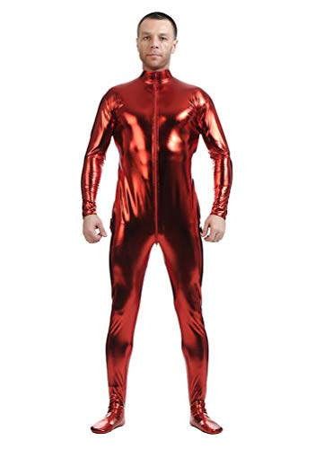 Morph Anzug Rot - Yuanu Unisex Beschichtung Adhesive All Inclusive