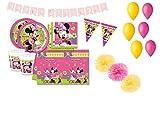 DECORATA PARTY Minnie Coordinato tavola Compleanno Kit 46f