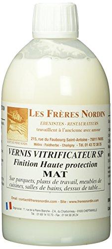 Les Frères Nordin 152533 Vernis Vitrificateur Mat, Multicolore