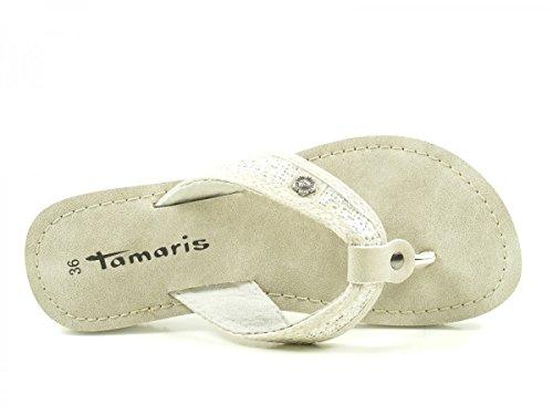 Tamaris 1-27117-38 Zoccoli donna Silber