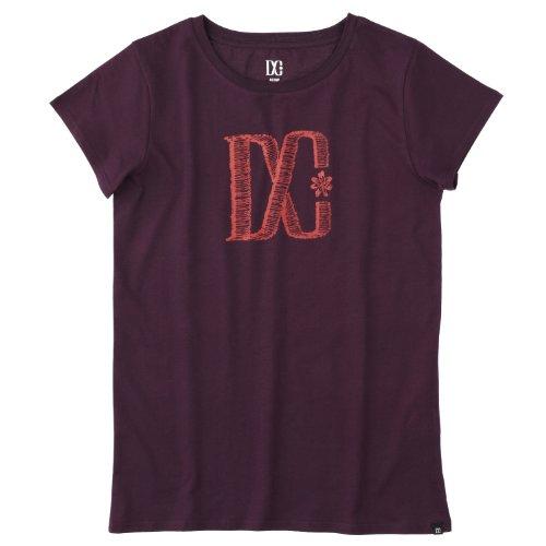 DC Shoes Safety T-shirt à manches courtes pour femme Violet - Aubergine