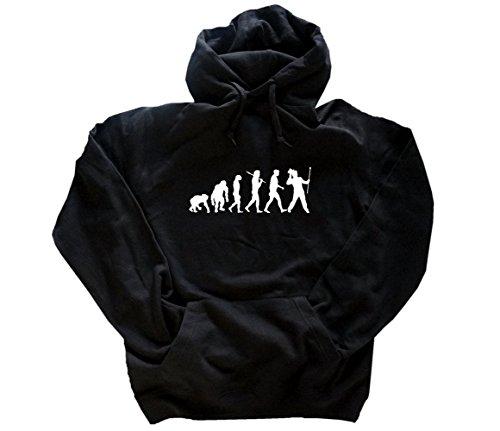 Shirtzshop Evolution Entertainer Kapuzensweatshirt Hoody Schwarz S