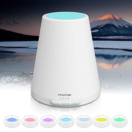 InnooCare Humidificador 300ml Difusor de Aceites Esenciales Difusor de Aroma 7 Colores LED 4 Modos de Temporizador Vapor Frío …