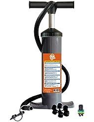 Kybin 6791270 Pompe à pied en aluminium à double action pour homme Gris TailleL