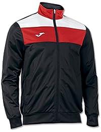 Joma - Crew Polyester Jacket, color black , talla 6XS