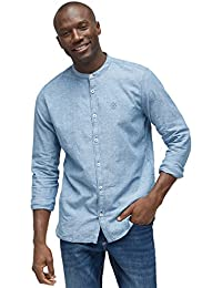 TOM TAILOR Herren Freizeithemd Ray Co Li Mao Shirt