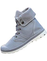 Botas De Lona para Hombre OtoñO Invierno Moda Botas De Tobillo De Alta Superior CóModas Zapatillas