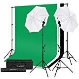 CRAPHY Kit Eclairage Studio Photo, Kit Parapluies Studio Photo avec...