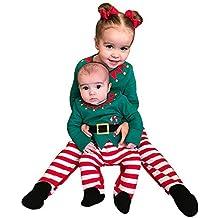 72da58820ff2 Ningsun Moda Manica Lunga Pigiama di Natale