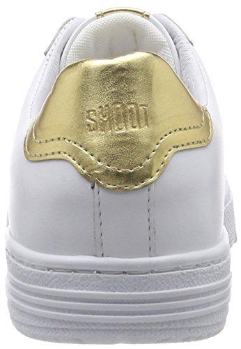 SHOOT Sh215093p, Baskets Basses femme Blanc - Blanc