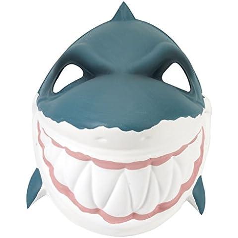 Wild Republic - Grinimals, máscara careta de tiburón para niños y adultos (14284)