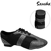 Sansha ta01lco t-split claqué de danza mujer, Mujer, color negro, tamaño FR : Taille 41 (Taille Fabricant : Taille 41)