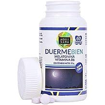 Melatonina masticable para la promoción de un sueño saludable – Comprimidos masticables de melatonina con vitamina