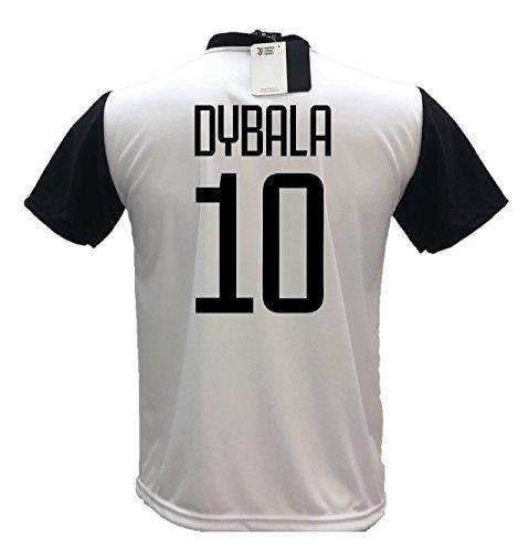 Maglia Calcio Dybala 10 Juventus Replica Autorizzata 2018-2019 bambino (taglie 2 4 6 8 10 12) adulto (S M L XL) (XL)