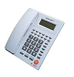 Inovera Orientel KX-T1588 CID Caller Id Compatible One Touch Redial Telephone , Assorted Colour