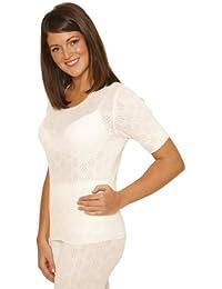 OCTAVE® Sous-Vêtements Thermiques Pour Femme: T-shirt/Tricot à Manches Courtes