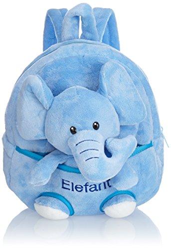 HAUPTSTADTKOFFER Kinder-Rucksack Kinderrucksack 4.5 Liter Braun HKK-2345-Giraffe Braun Elefant