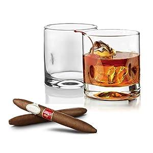 Tivoli Empire Whiskeygläser - 250ml - Set aus 6- Ideal für Parteien und Cocktails - Stilvoll Design - Geeignet für 6 Personen
