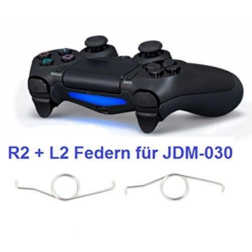 2x PS4 Controller Federn JDM-030 R2 L2 Trigger Spring Feder für Playstation 4 Custom Control Für Ps3