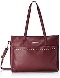Caprese Teena Women's Tote Bag (Burgundy)