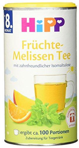 HiPP Früchte-Melissen Tee zahnfreundlich, 6er Pack (6 x 0.2 kg) (Aktion Tee)