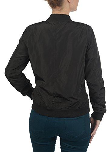 DESIRES Temari Damen Bomberjacke Übergangsjacke Jacke mit Stehkragen, Größe:XS, Farbe:Black (9000) - 4