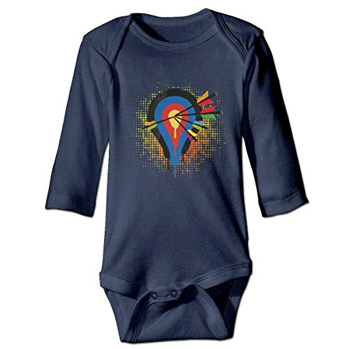 r Baby-Jungen,Target and 5 Arrows Baby Toddler Long Sleeve Onesies Bodysuits ()
