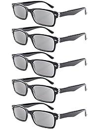 Eyekepper 5 Stuecke Federscharniere halbe Auge Design Lesebrille Sonne Leser