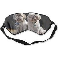Two Shih Tzu Dogs 99% Eyeshade Blinders Sleeping Eye Patch Eye Mask Blindfold For Travel Insomnia Meditation preisvergleich bei billige-tabletten.eu