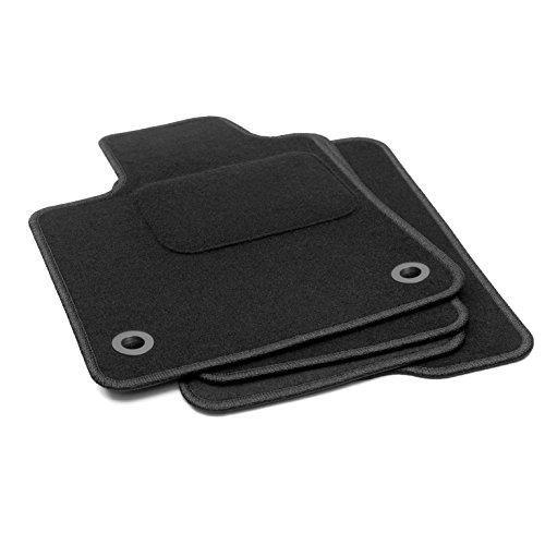Preisvergleich Produktbild Fußmatten für Micra 2003–2010 K12 Qualität Automatten schwarz