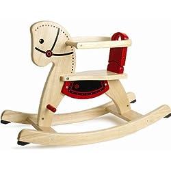 Pintoy 60.09535 - Caballo balancín de madera