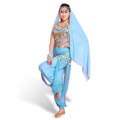 SymbolLife La Signora Abbigliamento Danza del Ventre , Chiffon Top